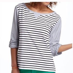 Anthropologie Postmark striped Conductor top